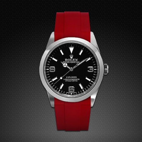 Strap For Rolex Explorer I 39mm Tang Buckle Series