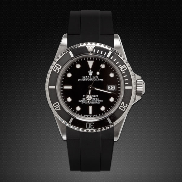 Strap For Rolex Sea Dweller Classic Series Rubber B