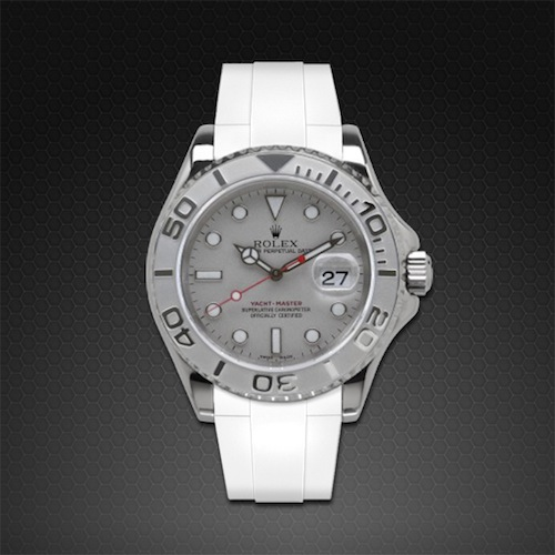 Strap For Rolex Yachtmaster 40mm Classic Series Rubber