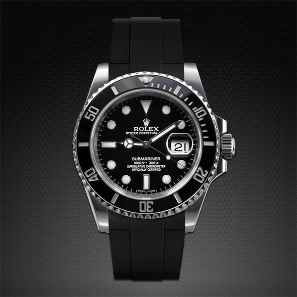 Strap For Rolex Submariner Ceramic Glidelock Edition