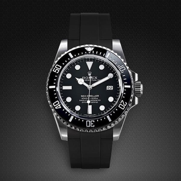 New Sea Dweller 4000 Glidelock Edition Rubber B Watch