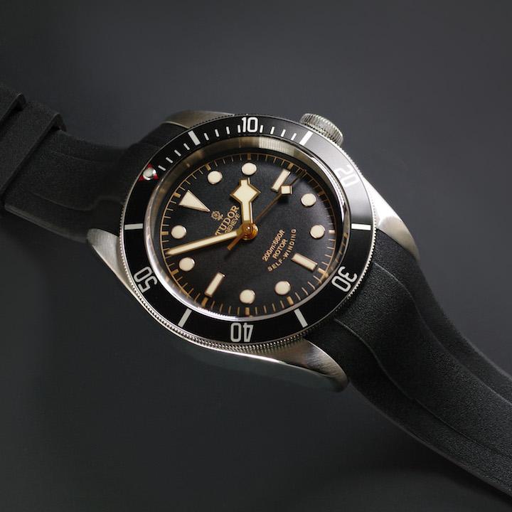Strap For Tudor Heritage Black Bay Vulchromatic 174 Dual