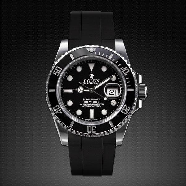 Strap for Rolex Submariner Ceramic , Glidelock Edition
