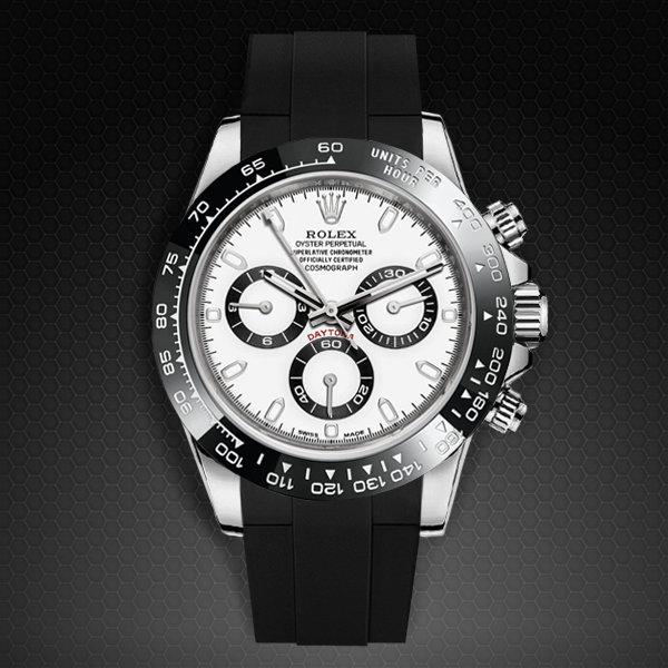 81df9dbfdb5 Strap For Rolex Daytona Oyster Bracelet Ceramic Bezel Clic