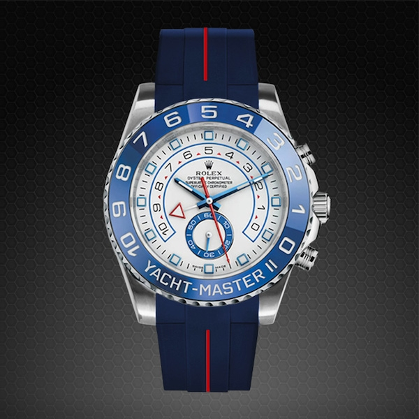 Strap for Rolex Yachtmaster II 44mm , Classic Series