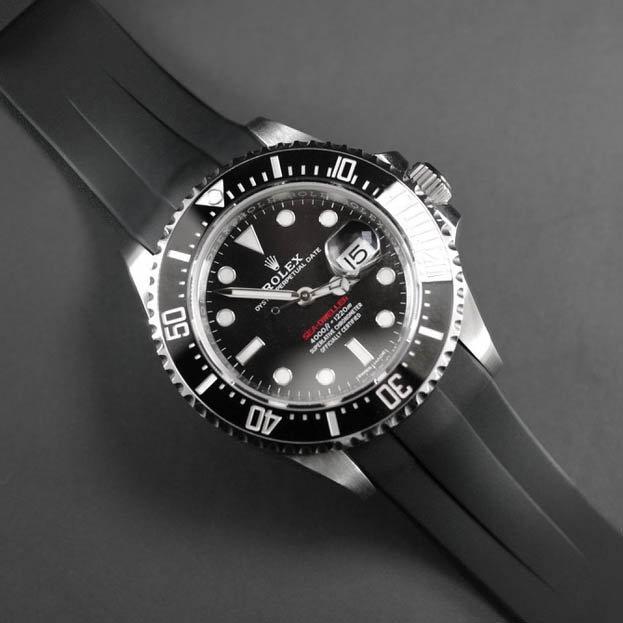 Rolex Sea Dweller Black Strap