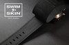Vulcanized Rubber watch band for Panerai 47mm
