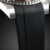 Rolex case rubber strap