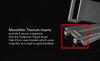 Strap for Audemars Piguet Royal Oak 41mm on Metal Bracelet contains a titaniums insert