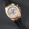 APV 41 BK white chrono dial