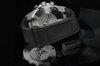 Black watchband for Audemars Piguet Royal Oak 41mm on Metal Bracelet