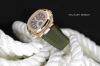 Patek army green strap