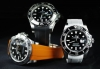 Vulcanized rubber strap for Rolex Explorer II 40mm - Tang Buckle Series Made in Switzerland