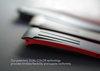 Vulcanized DUAL COLORED Rubber strap for Rolex SkyDweller on Alligator - VulChromatic®