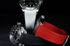 Black, red, white watchband for Rolex Sea-Dweller - Tang Buckle Series
